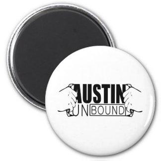 Austin Unbound - Logo Fridge Magnet