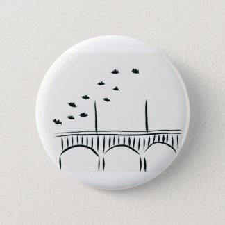 Austin's Congress Bridge 2 Inch Round Button