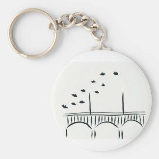 Austin's Congress Bridge Keychain