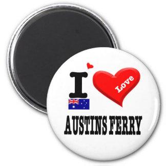 AUSTINS FERRY - I Love Magnet