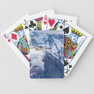 Austral Patagonian Bird Flying Bicycle Playing Cards
