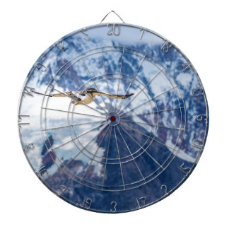 Austral Patagonian Bird Flying Dartboard