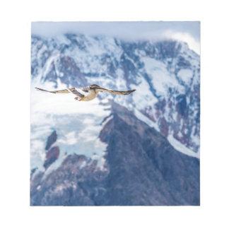 Austral Patagonian Bird Flying Notepad