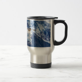 Austral Patagonian Bird Flying Travel Mug
