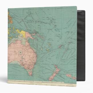 Australasian, Polynesian ports 3 Ring Binders