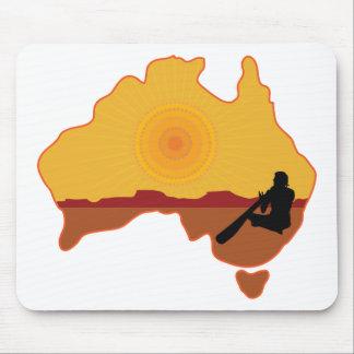 Australia Aboriginal Mouse Pad