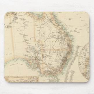 Australia and New Zealand Mousepads