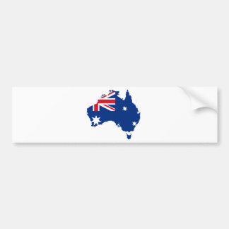 Australia AU Bumper Stickers