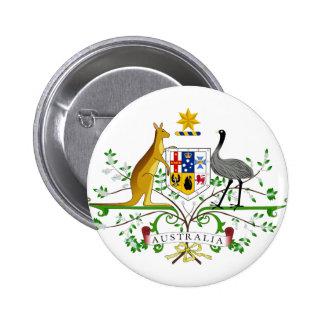 Australia AU Pinback Button