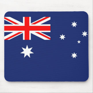 Australia Aussie Australian flag Mousepads