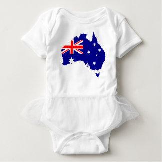 Australia Australia Day Borders Collection Country Baby Bodysuit