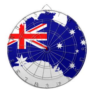 Australia Australia Day Borders Collection Country Dartboard