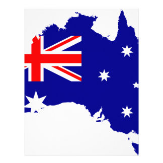 Australia Australia Day Borders Collection Country Letterhead