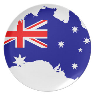 Australia Australia Day Borders Collection Country Plate