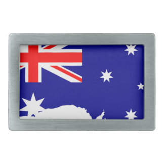 Australia Australia Day Borders Collection Country Rectangular Belt Buckle