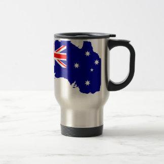 Australia Australia Day Borders Collection Country Travel Mug