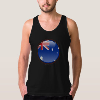 Australia Bubble Flag Tank Top