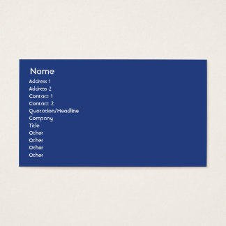 Australia - Business Business Card