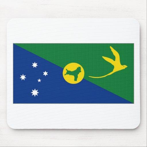 Australia Christmas Island Flag Mousepads