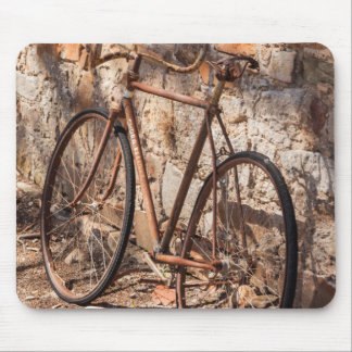 Australia, Clare Valley, Sevenhill, old bicycle Mouse Pad