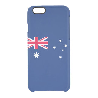 Australia Clear iPhone Case