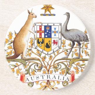 Australia Coat of Arms Coaster