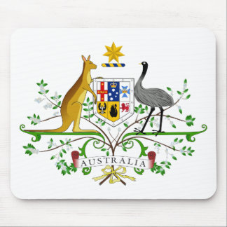Australia Coat Of Arms Mouse Pad
