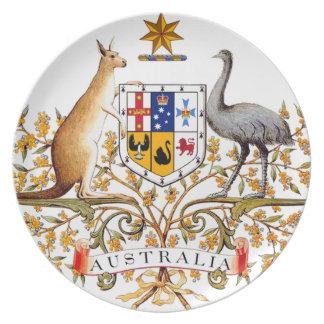 Australia Coat of Arms Plate