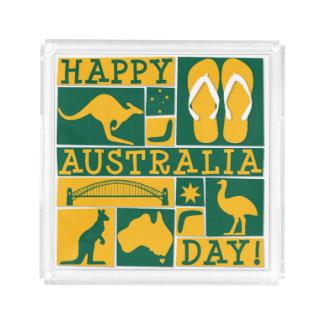 Australia Day Acrylic Tray