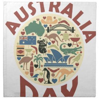 Australia Day- Appreciation Day Napkin