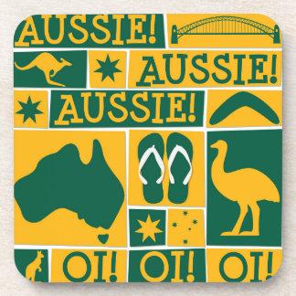 Australia Day Beverage Coaster