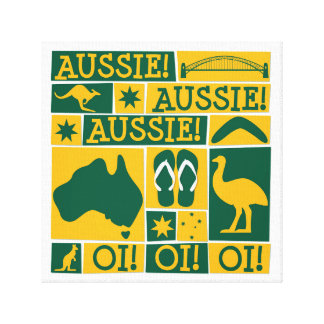 Australia Day Canvas Print