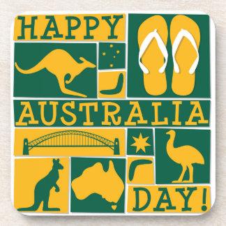 Australia Day Drink Coaster