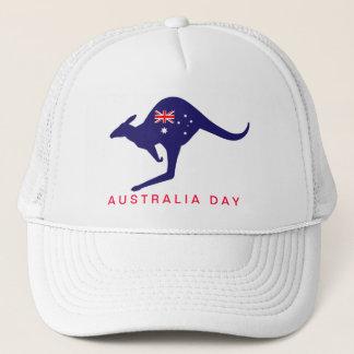 AUSTRALIA DAY KANGAROO FLAG CAP