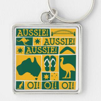 Australia Day Keychain