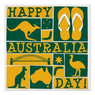 Australia Day Perfect Poster