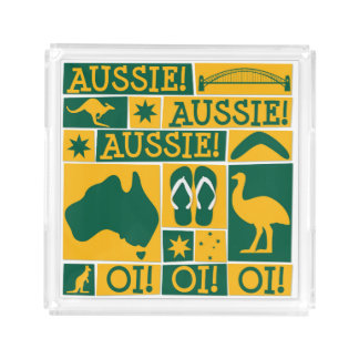 Australia Day Serving Tray