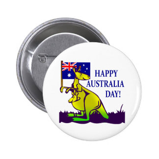 AUSTRALIA DAY T-Shirts and Gifts! 2 Inch Round Button