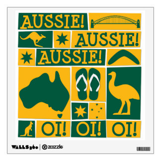 Australia Day Wall Sticker