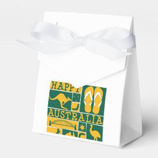 Australia Day Wedding Favor Box