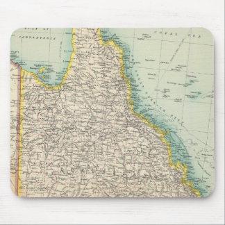 Australia eastern section mousepad