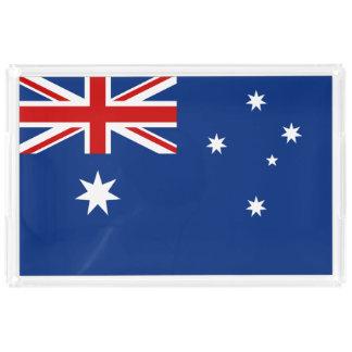 Australia flag acrylic tray