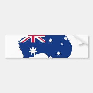 Australia flag Australia styles Design Bumper Sticker