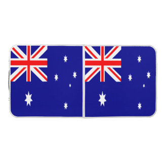 Australia Flag Beer Pong Table
