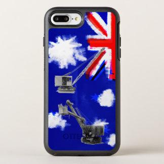 Australia Flag Crane Operator Heavy Equipment OtterBox Symmetry iPhone 7 Plus Case