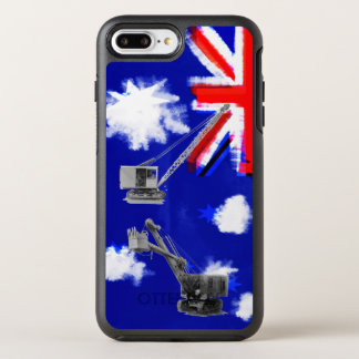 Australia Flag Crane Operator Heavy Equipment OtterBox Symmetry iPhone 8 Plus/7 Plus Case
