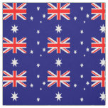 Australia Flag Custom Fabric