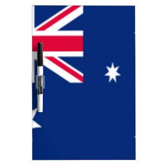 Australia Flag Dry Erase Whiteboards