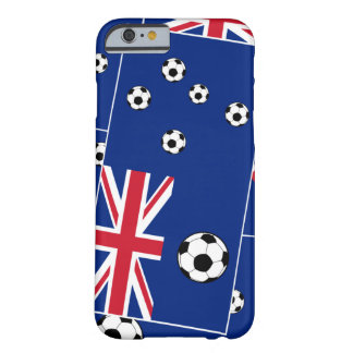 Australia Flag Football Soccer Barely There iPhone 6 Case