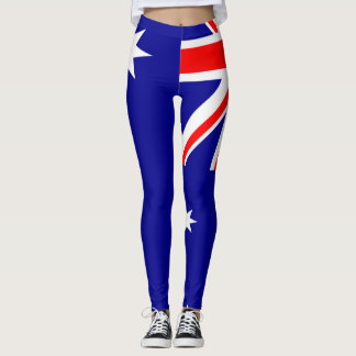 Australia Flag full Leggings